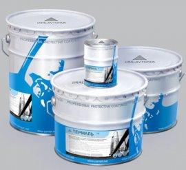 Антикорозийная термостойкая краска ТЕРМАЛЬ на основе алюминиевая