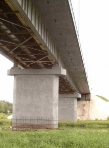 Мост через р. Вазуза материалы линейки ГАМБИТ
